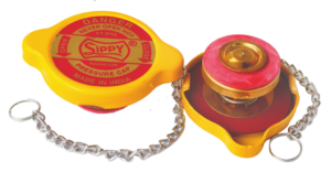 RADIATOR  CAP 13 P.S.I. DOUBLE SEAL FOR COOLANT  WITH  BRASS PARTS