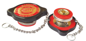 RADIATOR  CAP 13 P.S.I. DOUBLE SEAL FOR COOLANT  WITH  S/S PARTS