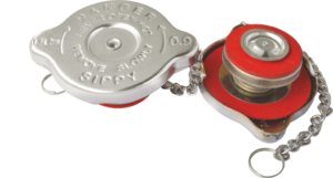 RADIATOR PRESSURE CAP EICHER CANTER 13 P.S.I. DOUBLE SEAL WITH S/S PARTS  O.E TYPE