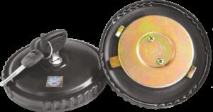 LOCKING  DIESEL TANK CAP TATA  4018/3118;  L/L U-TRUCK  (SHEET) O.E TYPE
