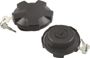 LOCKING  DIESEL TANK CAP L/L U-TRUCK  (P.V.C)  SIDE LOCKING