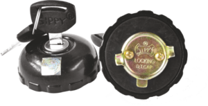 LOCKING  DIESEL/PETROL  TANK CAP JEEP(PEUGEOT)   MM-540  (P.D.C.) (BLACK)